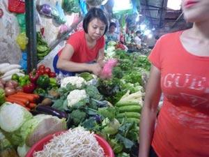 ベトナムの野菜
